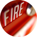 Fire Alarm Systems Circle Icon